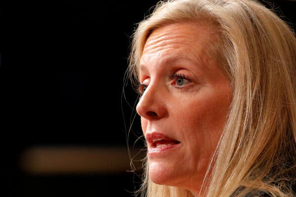 Lael Brainard, a Fed governor, said she was monitoring market developments.